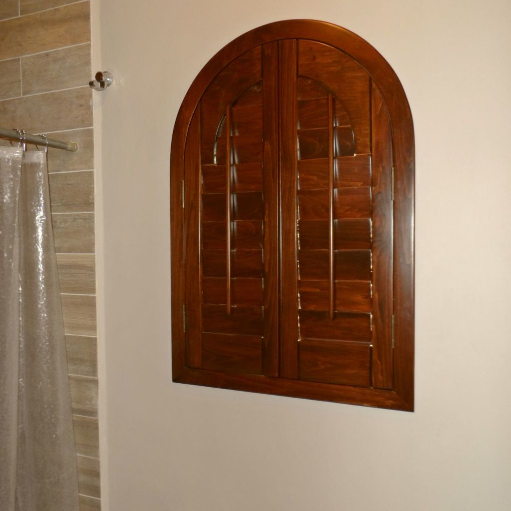 SHUTTER ABATIBLE CON ARCO INTEGRADO